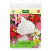 Katy Sue Flower Pro Poinsettia Mould & Veiner-118100