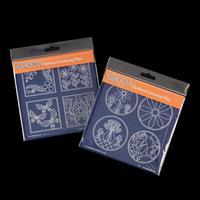 Groovi A5 Square Plates Duet - Tina's Layering Circles & Squares-120693