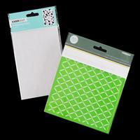 Kaisercraft Peachy Bubbly Embossing Folder with Lattice Designer -120705
