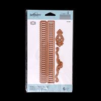 Spellbinders Shadowbox Ribbon Threader Die Set - 6 Dies-121238