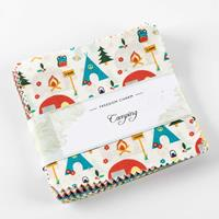 Fabric Freedom Camping Charm Pack 42  x5