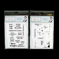 Sentimentally Yours 2 x Stamp Sets - Splatterlicious Textures & S-122387