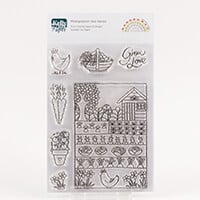 Kelly Cuts Paper A6 Stamp Set - Vegetable Garden-127513