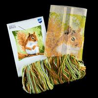 Stitch Kits Red Squirrel Cushion Front Cross Stitch Kit-129284