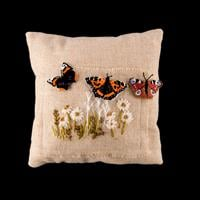 Rowandean Embroidery 3D British Butterflies Set of 3-130058