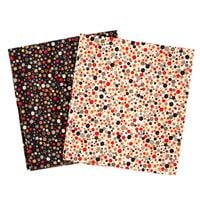 Perfect Occasions - 2 x 100% Cotton Fabrics - Ditsy Flowers & Sta-132148
