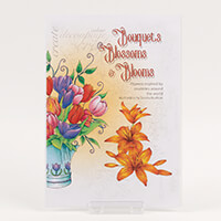 Bouquets, Blossoms & Blooms Stamp Sheet - Tulips & Lily-132840