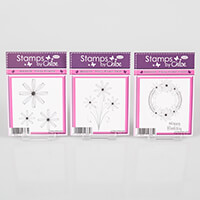 Stamps by Chloe Pretty Flowers Stamp Collection - 3 x Stamp Sets-136731