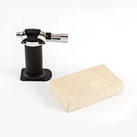 The PMC Studio Basic Firing Kit - Butane Gas Torch & Firing Block-137208