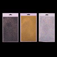 Craft Buddy Set of 3 Self Adhesive 5mm Gem Sheets - Choose Any 3-137570