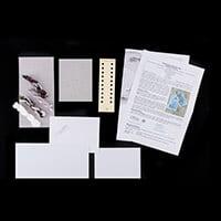 Nutmeg Chrismas on the Farm Cross Stitch Card Kit-138658