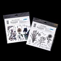 Creative Expressions 2 x A5 Stamp Plates - Natures Botanicals & F-138785