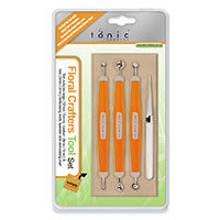 Tonic Floral Crafters Tool Set   3 x Double Ended Embossing Tools-141955