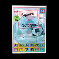 Crafty UK Square in Octagon Template Set-144009