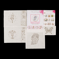 Pink Ink Designs Colour, Cut & Create Strong Man, Tattoo Lady, Su-144997