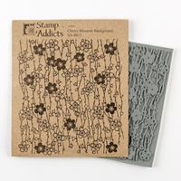 Stamp Addicts Background Cling Mounted Rubber Stamp - Cherry Blos-147065