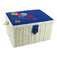Sewing Online Embroidered Medium Sewing Box with Sewing Kit -  Bu-147471