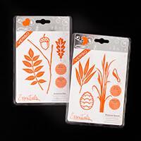 Tonic Essentials 2 Autumn Die Sets - Autumnal Oak & Pinecone Seas-147519
