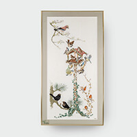 Thea Gouverneur Bird Table Cross Stitch Kit-148190