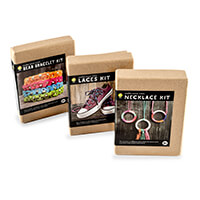 Marathon Threads 3 x Make Your Own Kits - Laces, Bead Bracelet & -148515
