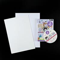 MJM Design Studios Lilies and Lights Go Digi CD-ROM with Printabl-149594