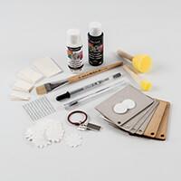 I Love Mixed Media Tag Kit - MDF, Greyboard, Acrylic, Paper, Ring-151944