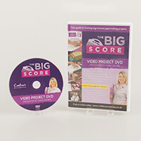 Crafters Companion The Big Score Resource DVD-152715