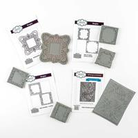 Creative Expressions 4 x Pre-Cut Stamps Sets - 6 Stamps Total-155294
