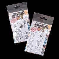AALL & Create 2 x A7 Stamp Sets -  Lilith and Arches & Peaks - 5 -155774