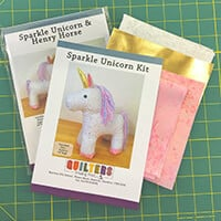 Quilter's Trading Post Sparkle Unicorn Kit-157858