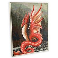 Pixelhobby UK Dragon Kit - 9 x Baseplates, 166 x Pixelsquare Shee-158276