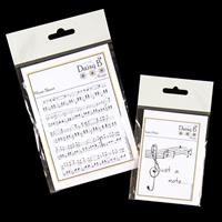 Daisy B Music Sheet and Just a Note Stamps-158980