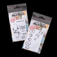 AALL & Create 2 x A7 Stamp Sets - Brinley & Marking Time - 8 Stam-159755
