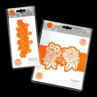 Tonic 2 x Sleeve Die Sets - Dahlias in Bloom & Dazzling Droplets -160084