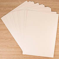 Centura Pearl Luxury Double Sided Ivory A3 Card Pack 320gsm - 20 -160621