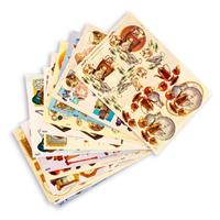 Assorted A4 3D Decoupage Paper - Music & Home Collection - 60 She-160702