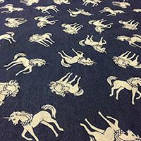 Empress Mills 1m Denim Printed Fabric-160774