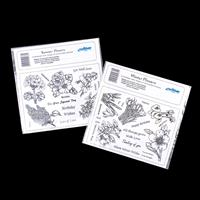 Creative Expressions 2 x Unmounted Stamp Sets - Summer & Winter F-162178