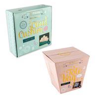 The Makery Tote Bag & Cloud Cushion Craft Kit-163106