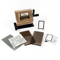 Tim Holtz® Black & Brown Side Kick Starter Kit - Inc Embossing Fo-164852