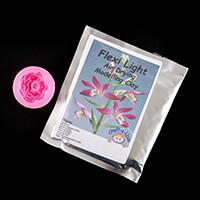 Craft-e-Liza Peony Kit - Peony Mould and 50g of Flexi Light Clay-166810