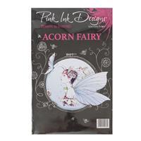 Pink Ink Designs  A5 Acorn Fairy  - 4 Stamp Set-168720