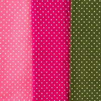 Dawn Bibby 100% Cotton 3 x 1/2m Spots Fabrics Bundle-169568