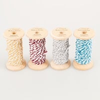 Eleganza Christmas Bakers Twine - 15m x 4 Colours-171667
