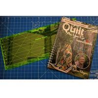 Oh Sew Sweet Shop Sasher Ruler & Quilt As You Go Handbook Bundle-172018