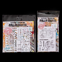 AALL & Create Stamp and Stencil - Blueprint and Circuit-172233