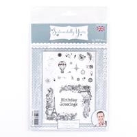 Sentimentally Yours Timeless Journey A5 Corner Stamp Set - 23 Sta-172432
