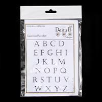 Nina Crafts Plainabet Letters -26 Stamps-173228