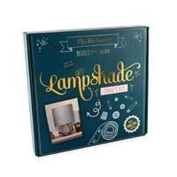 The Makery Lampshade Craft Kit - Fabric, PVC, Tape, Ring, Pom Pom-173960