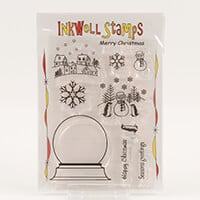 Inkwell Snowglobe Stamp Collection - Includes 10 Stamps-174450
